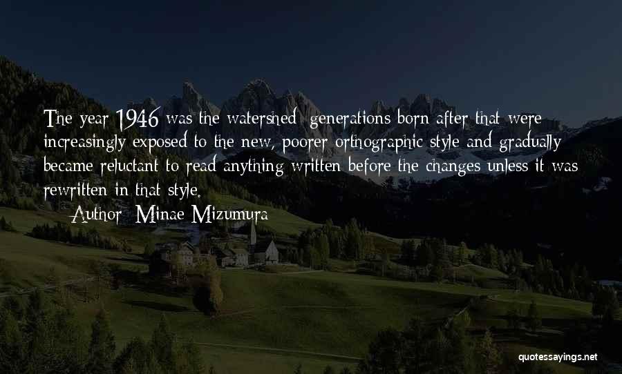 Minae Mizumura Quotes 499359