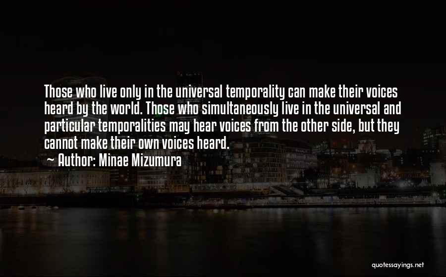 Minae Mizumura Quotes 531569