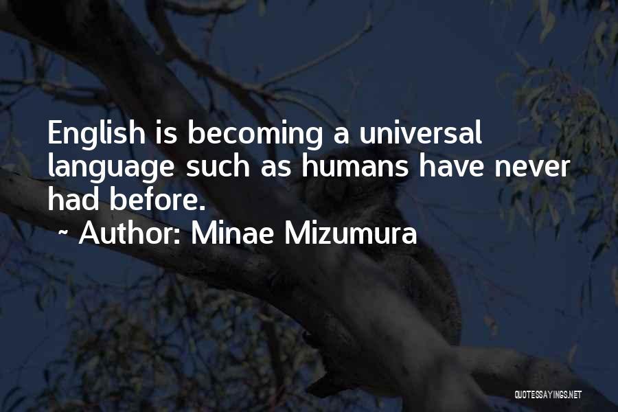 Minae Mizumura Quotes 653143