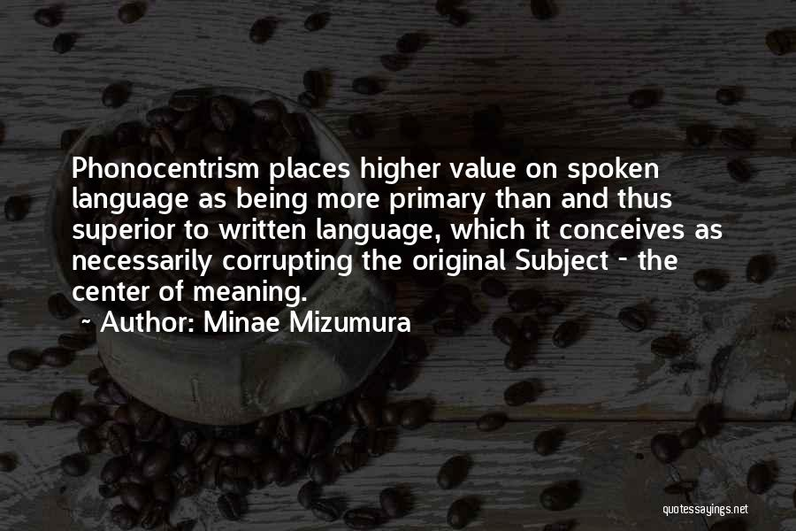 Minae Mizumura Quotes 889239
