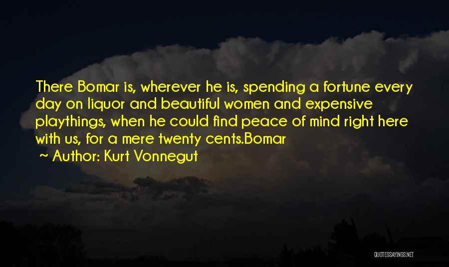Mind And Money Quotes By Kurt Vonnegut