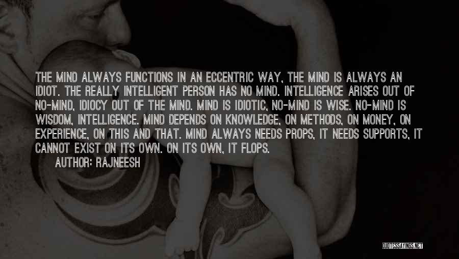 Mind And Money Quotes By Rajneesh
