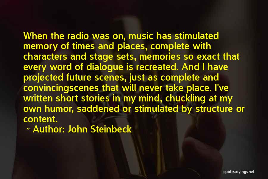 Mind And Music Quotes By John Steinbeck