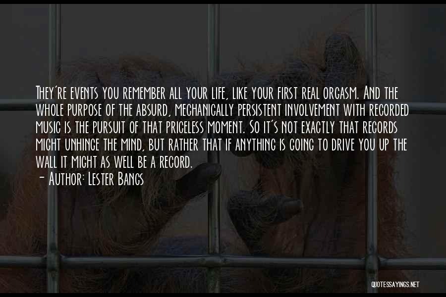 Mind And Music Quotes By Lester Bangs