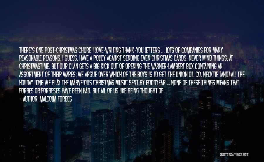 Mind And Music Quotes By Malcolm Forbes