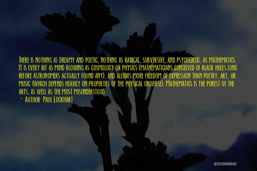 Mind And Music Quotes By Paul Lockhart