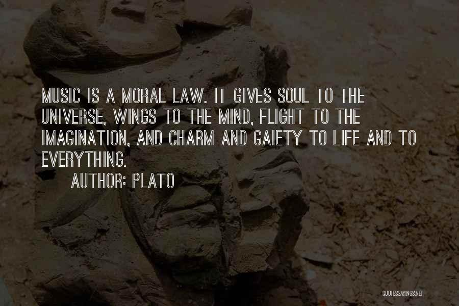 Mind And Music Quotes By Plato