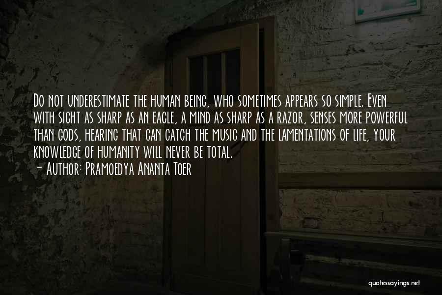 Mind And Music Quotes By Pramoedya Ananta Toer