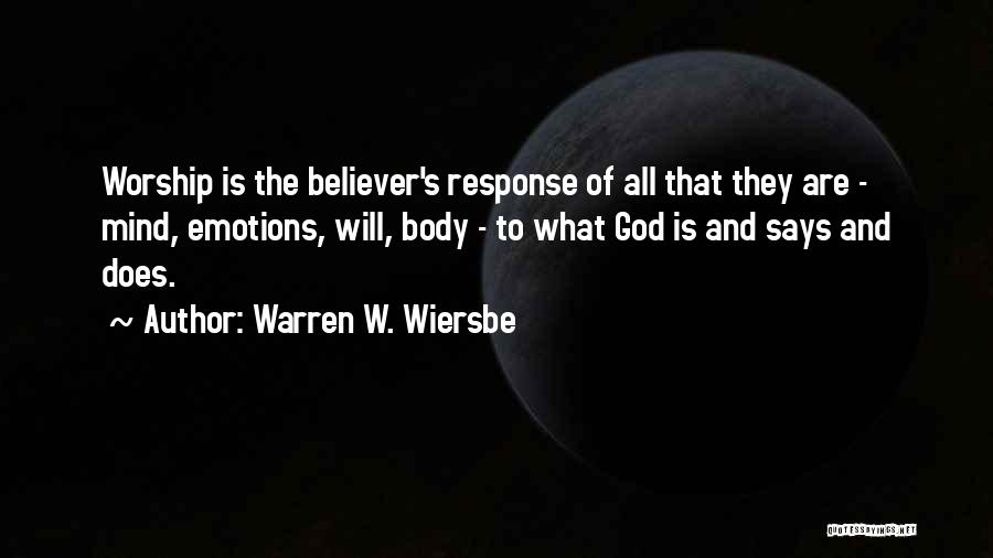 Mind And Music Quotes By Warren W. Wiersbe
