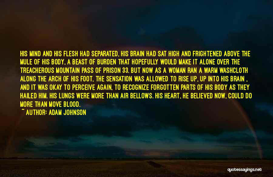 Mind Over Heart Quotes By Adam Johnson