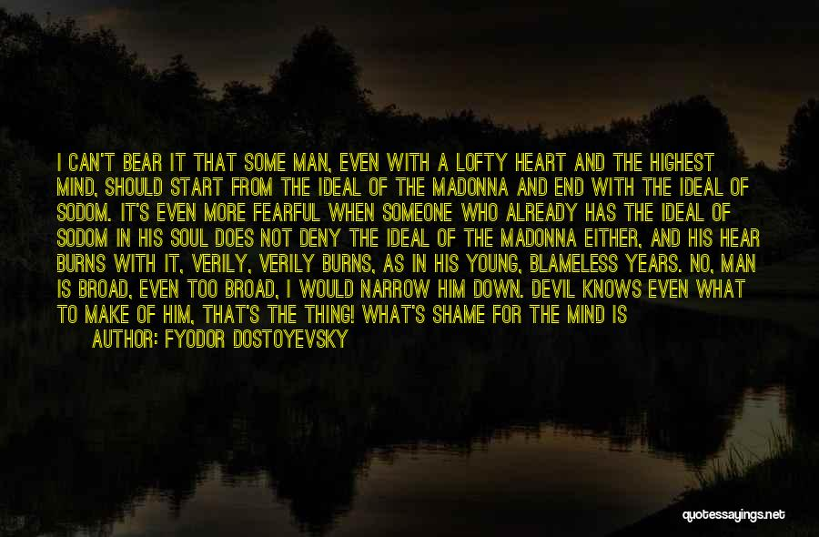 Mind Over Heart Quotes By Fyodor Dostoyevsky