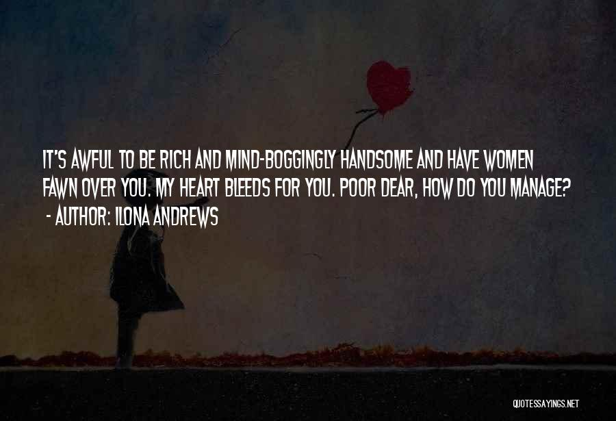 Mind Over Heart Quotes By Ilona Andrews