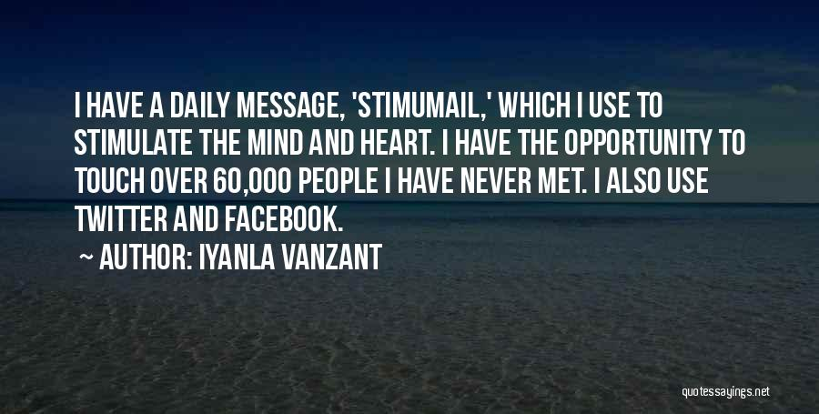 Mind Over Heart Quotes By Iyanla Vanzant