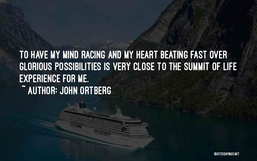 Mind Over Heart Quotes By John Ortberg