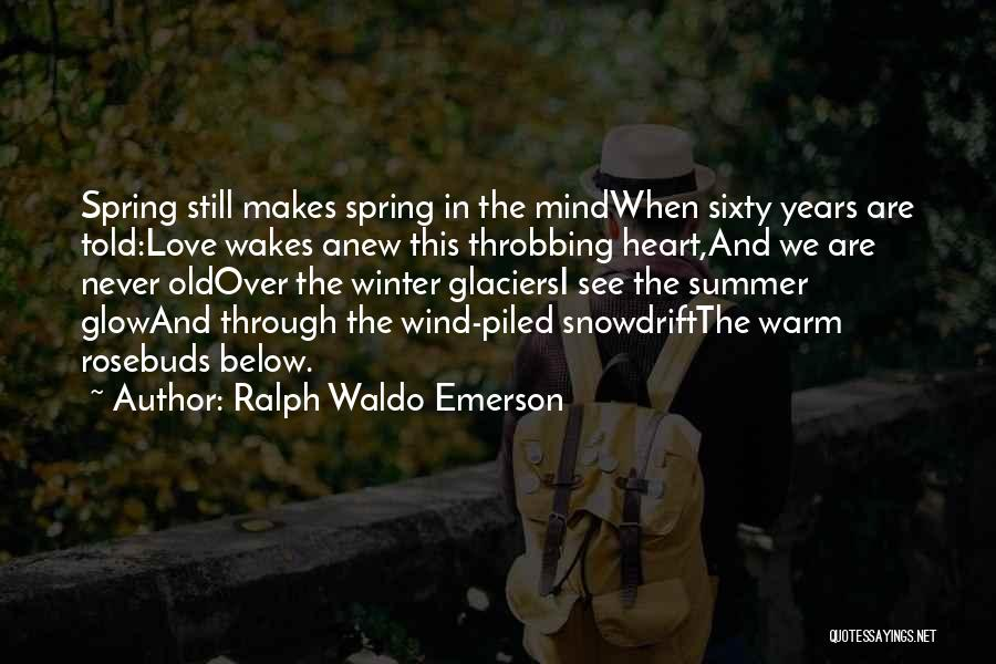 Mind Over Heart Quotes By Ralph Waldo Emerson