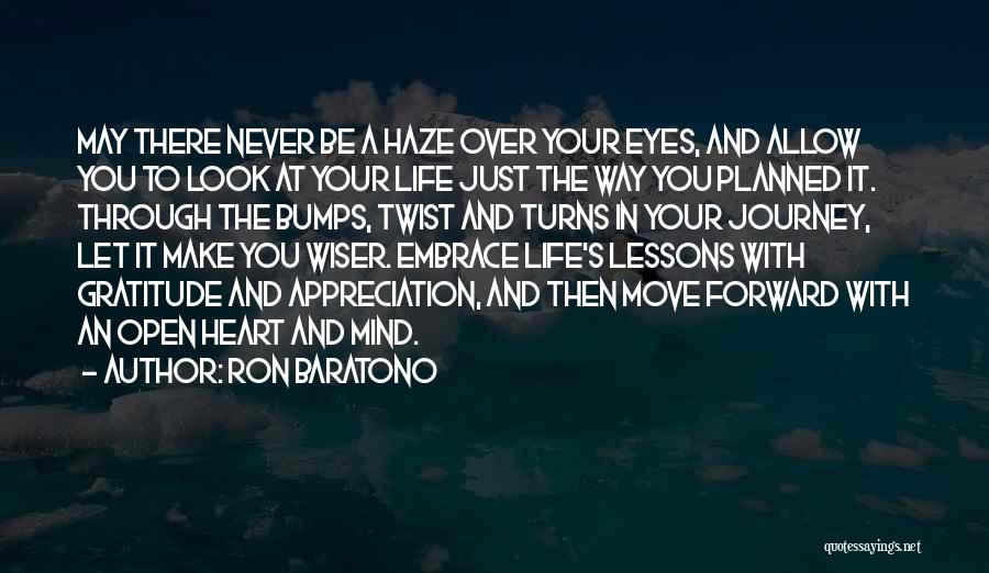 Mind Over Heart Quotes By Ron Baratono