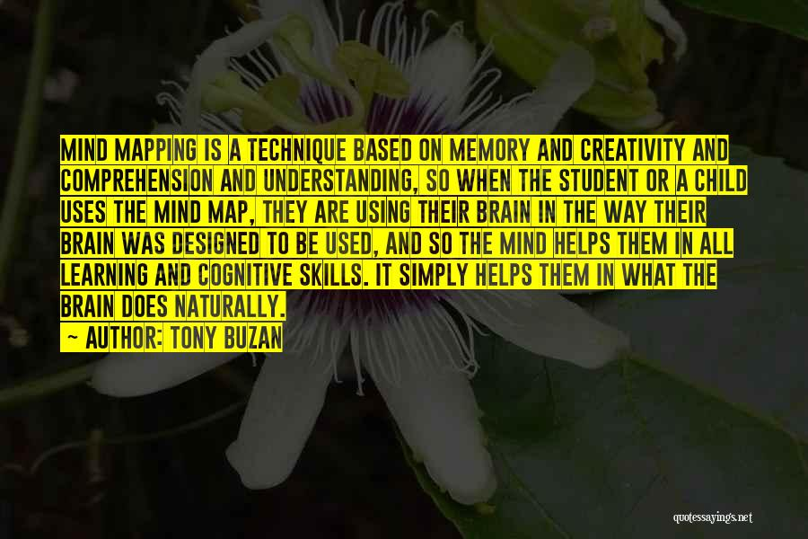 Mind Vs Brain Quotes By Tony Buzan