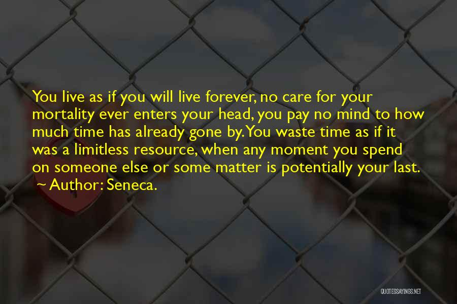 Mind Your Head Quotes By Seneca.