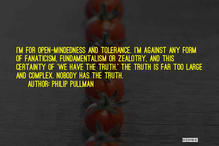 Mindedness Quotes By Philip Pullman