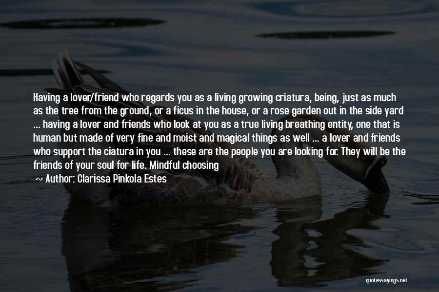 Mindful Living Quotes By Clarissa Pinkola Estes