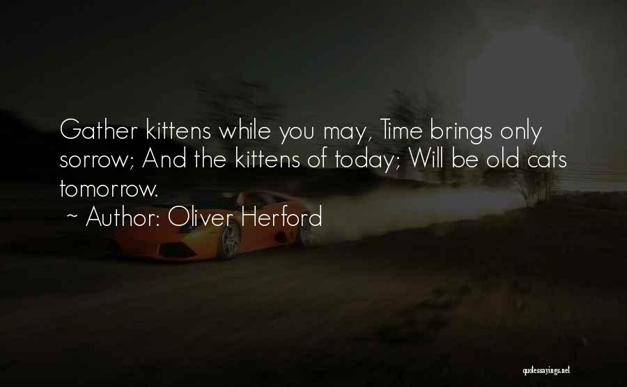 Mini Vix Futures Quotes By Oliver Herford