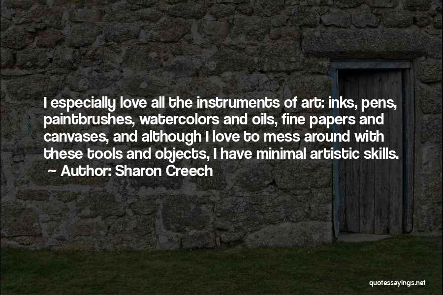 Minimal Love Quotes By Sharon Creech