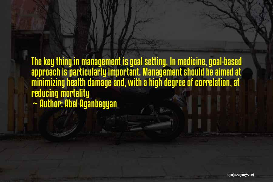 Minimizing Quotes By Abel Aganbegyan