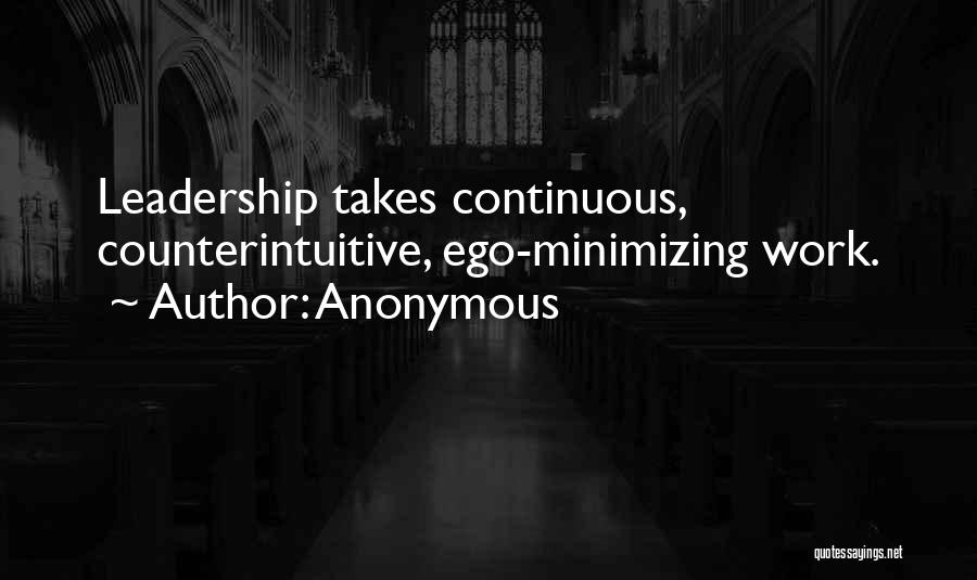 Minimizing Quotes By Anonymous