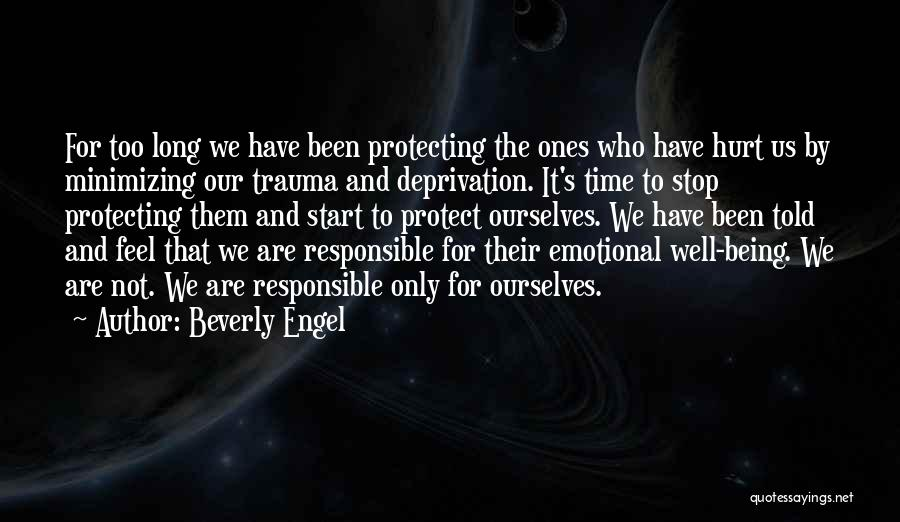 Minimizing Quotes By Beverly Engel