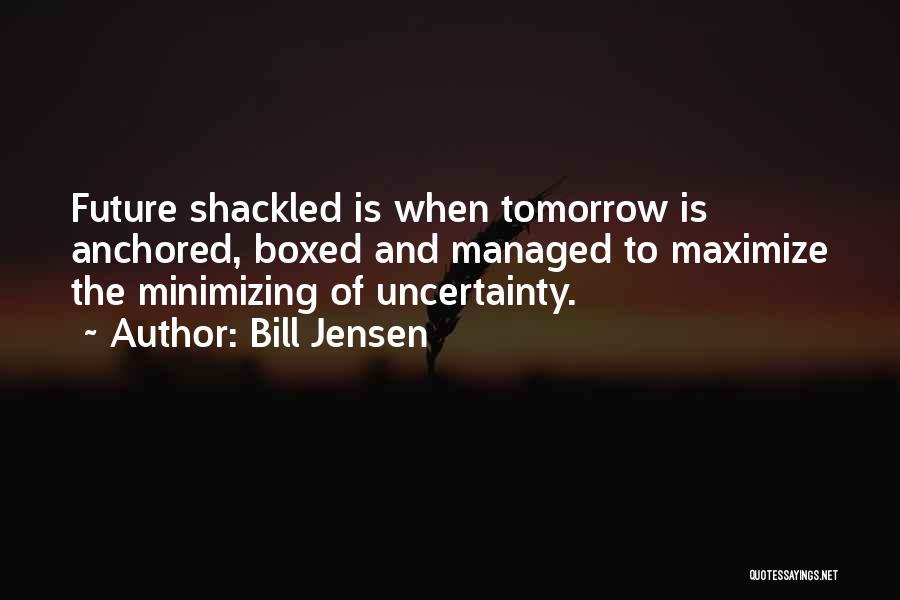 Minimizing Quotes By Bill Jensen