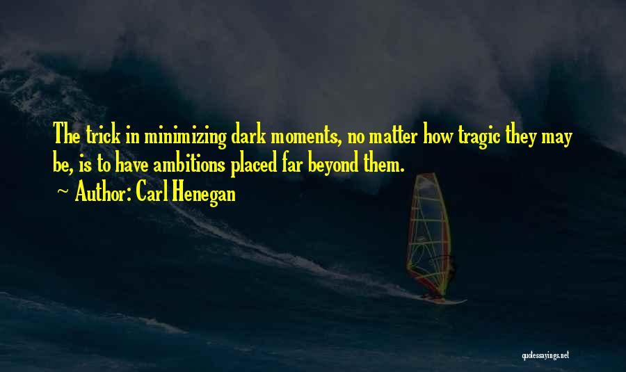 Minimizing Quotes By Carl Henegan