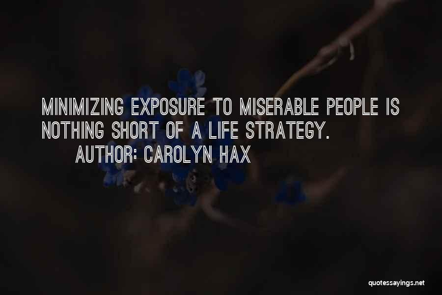Minimizing Quotes By Carolyn Hax