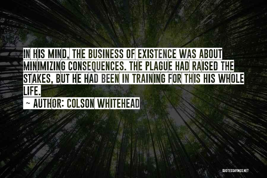 Minimizing Quotes By Colson Whitehead