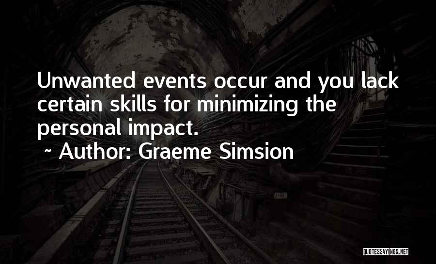 Minimizing Quotes By Graeme Simsion