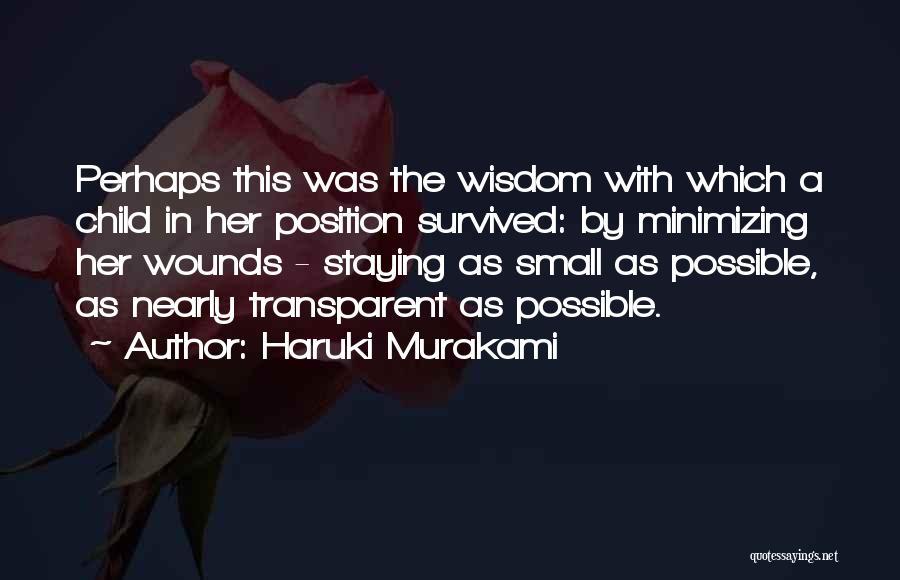 Minimizing Quotes By Haruki Murakami
