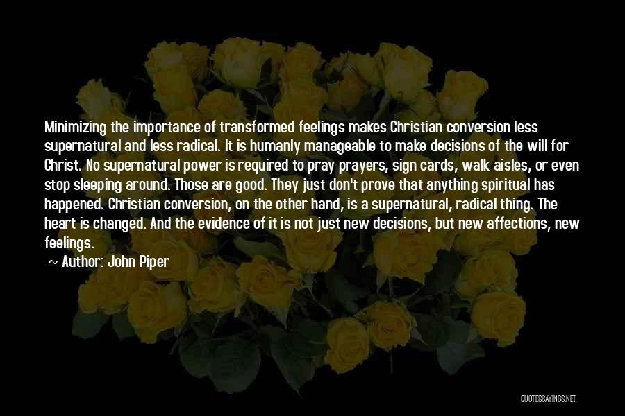 Minimizing Quotes By John Piper
