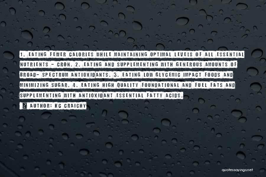 Minimizing Quotes By KC Craichy
