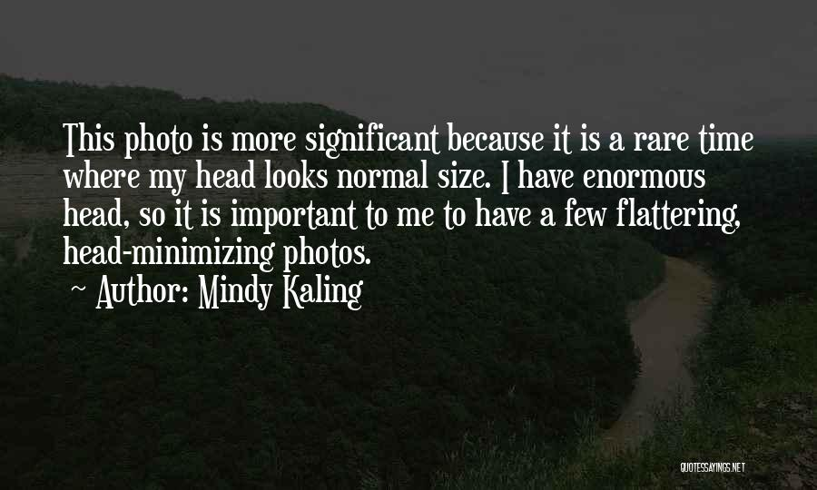 Minimizing Quotes By Mindy Kaling