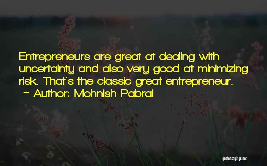 Minimizing Quotes By Mohnish Pabrai