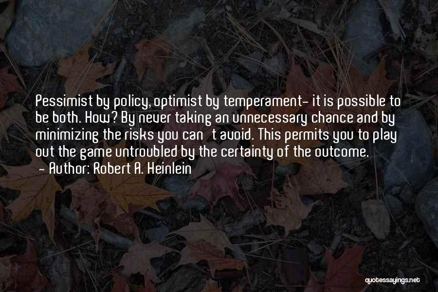 Minimizing Quotes By Robert A. Heinlein