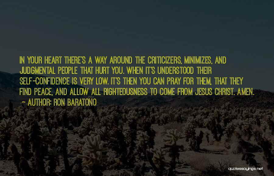 Minimizing Quotes By Ron Baratono