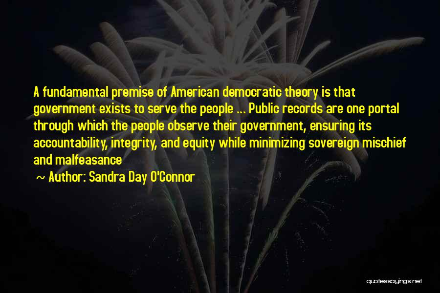Minimizing Quotes By Sandra Day O'Connor