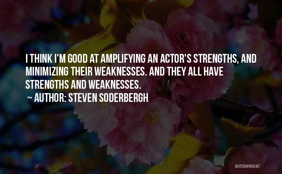 Minimizing Quotes By Steven Soderbergh