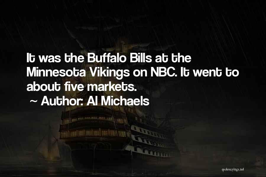 Minnesota Vikings Quotes By Al Michaels