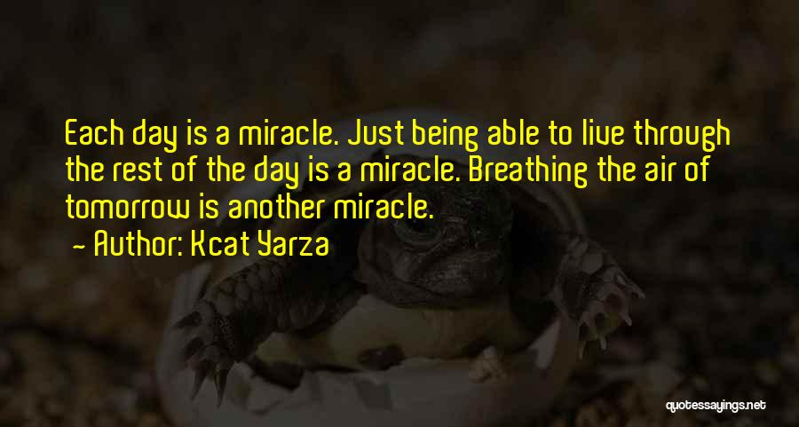 Miracle Of Life Quotes By Kcat Yarza
