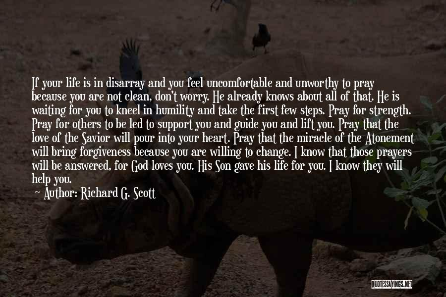 Miracle Of Life Quotes By Richard G. Scott