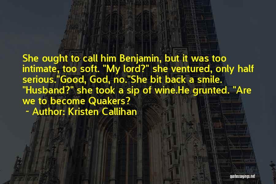 Miranda Are We Quotes By Kristen Callihan