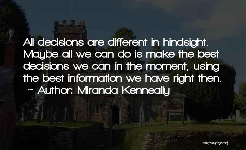 Miranda Are We Quotes By Miranda Kenneally