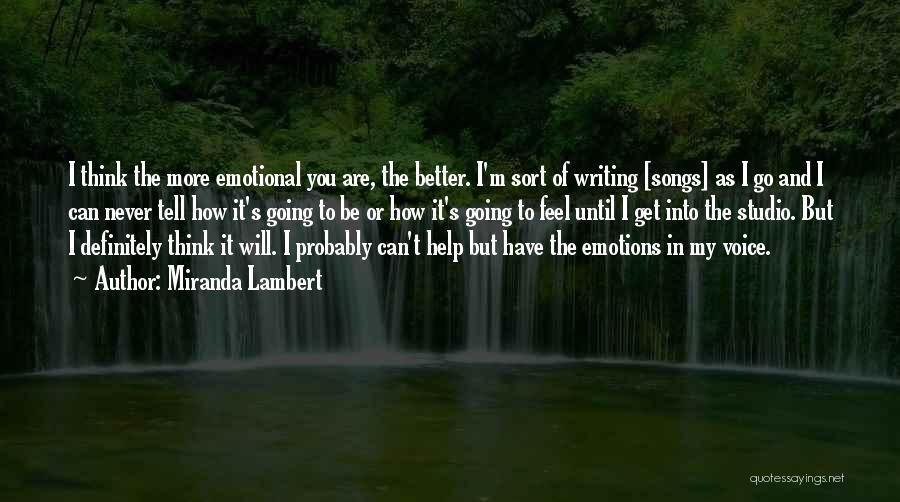 Miranda Lambert Quotes 1699705
