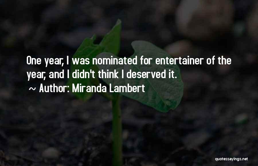 Miranda Lambert Quotes 253771